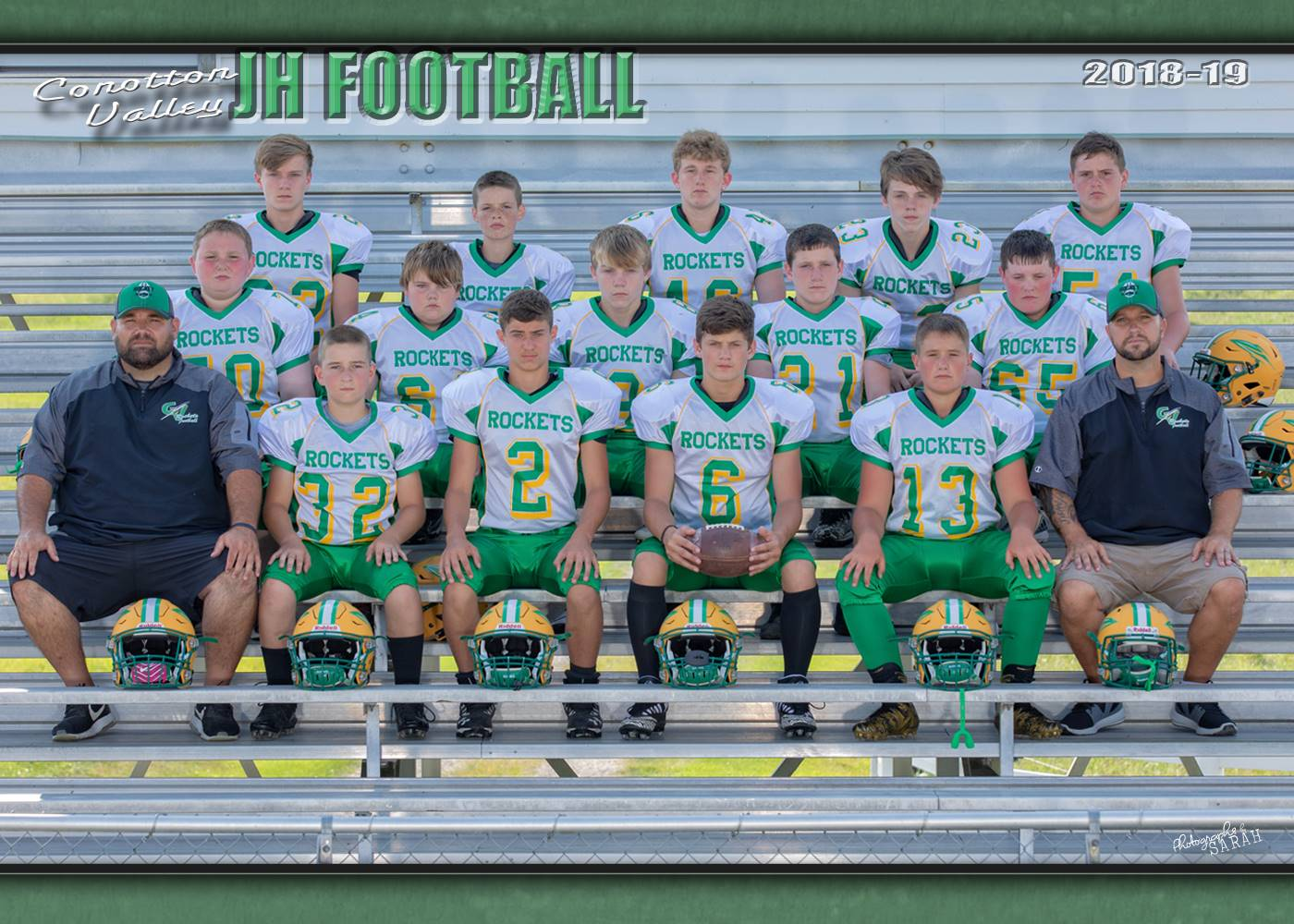 2018 Junior High Football