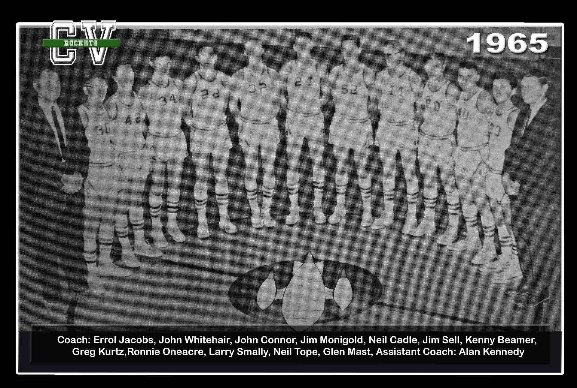 1965 Basketball Team