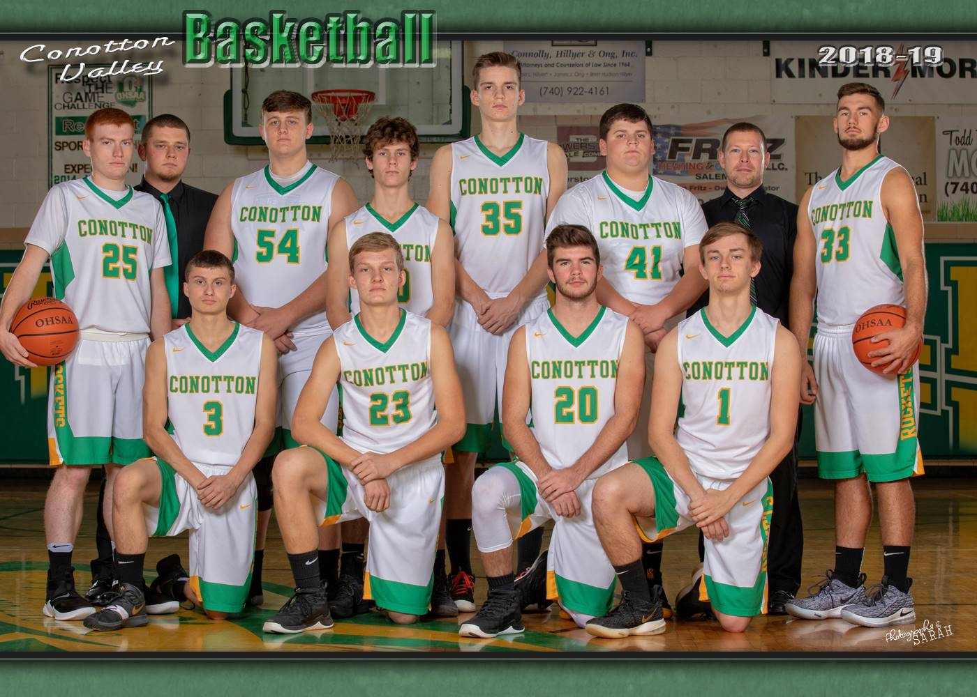 2018-2109 Boys Varsity Basketball
