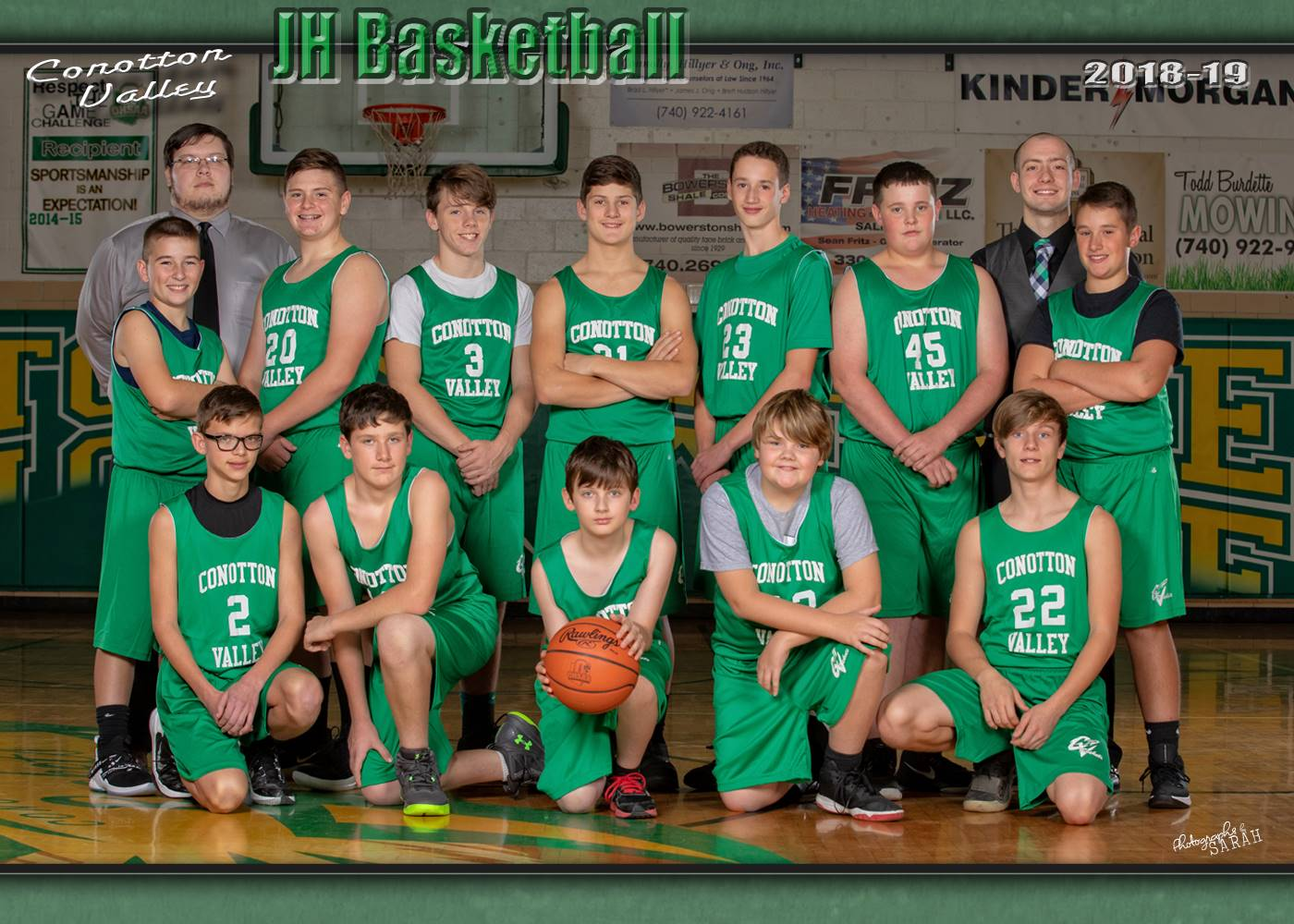 2019-2019 JH Boys Basketball
