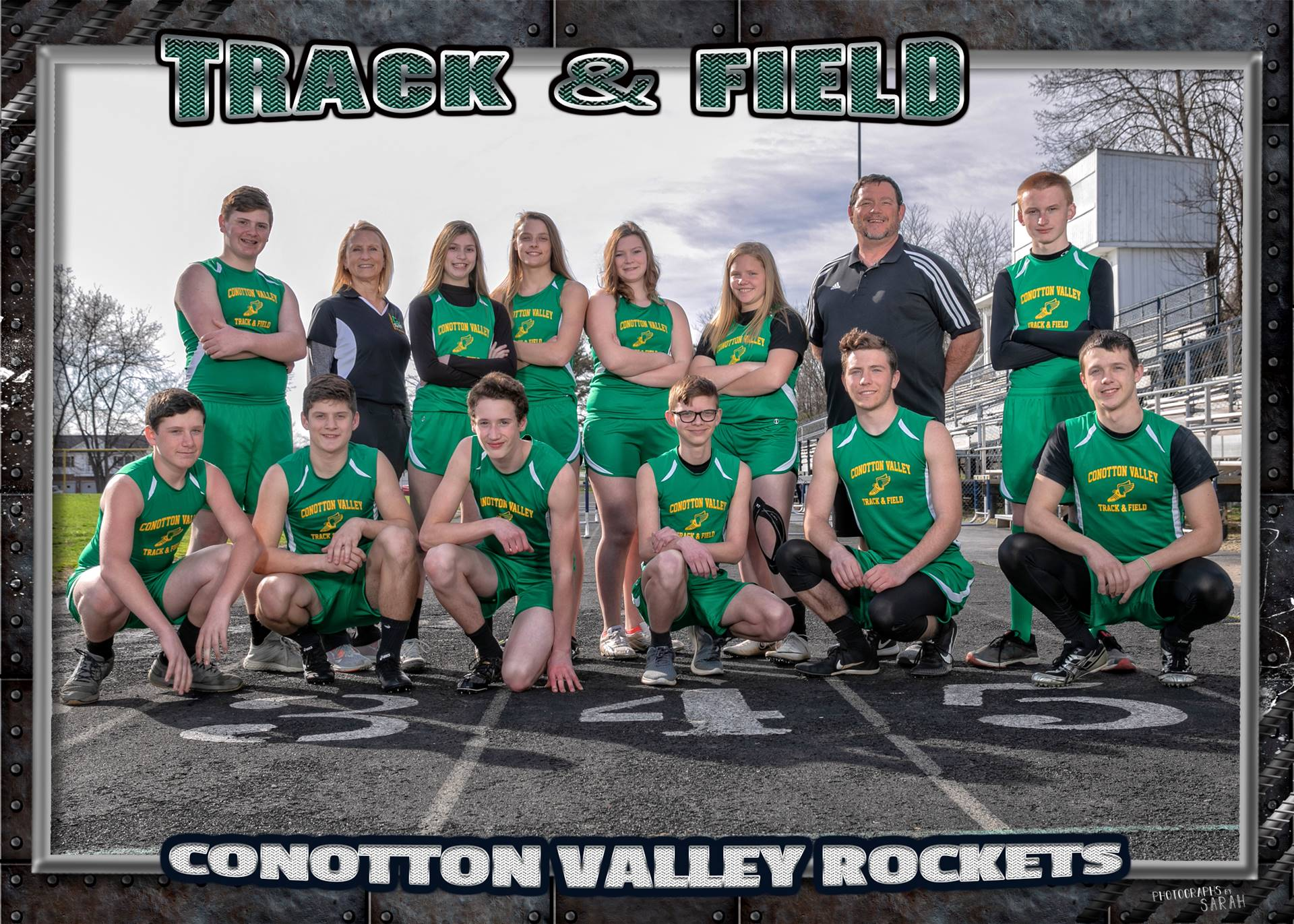 2019 Varsity and Junior High Track